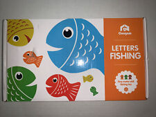 Coogam Fishing Letters Game Wooden New
