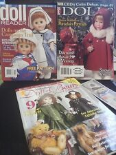 Doll Reader Dolls Australian Dolls Bears Collectibles (3) Issues Lot Magazines