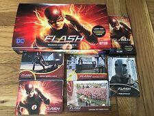 The Flash Season 2 Mini Master Foil Parallel Set 99 Cards Base, Inserts,Box Wrap