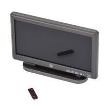 """Puppenhaus Deko Für 12"""" Action Spielzeug 1/6 Scale Mini LCD TV & Remote Control"""