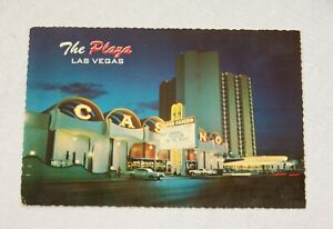 Union Plaza Hotel Las Vegas Postcard Bob Carroll Fiddler on the Roof Bill Board