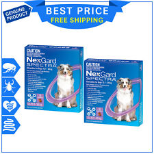 NexGard Spectra 15.1 to 30 kg Chewable for Dogs - 6pack