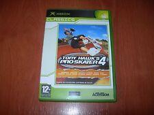 TONY HAWK´S PRO SKATER 4 XBOX CLASSICS (PAL ESPAÑA BUEN ESTADO)