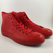 Converse Chuck Taylor All Star Laser Hi H-Town Houston High Top Red Mens Size 10