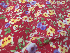 "Crepe Apparel-Everyday Clothing Floral 60"" Craft Fabrics"