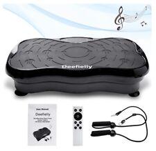 Deefielly mini vibration plate excercise machine whole body workout