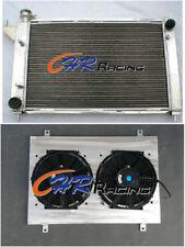 52MM ALUMINUM RADIATOR&SHROUD&FANS for 1994 1995 FORD MUSTANG GT/GTS/SVT 3.8/5.0