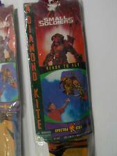 Vintage Set of 3 New Small Soldiers Spectra Star Diamond Kites 1998 Nos #iii1