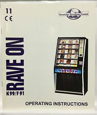 JUKEBOX MANUAL - WURLITZER RAVE ON K99/F91 OPERATING INSTRUCTIONS