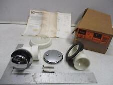SANITARY-DASH 2-892 Tub Half Waste & Overflow 1-1/2 Schedule 40 (White)
