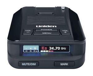 Uniden DFR9 Long Range Laser and Radar Detector with Built-in GPS