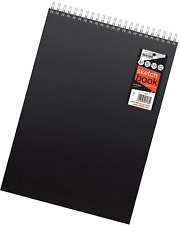 Silvine A3+ Hardback Sketch Book - 60 Sheets of 130gsm smooth cartridge paper. R