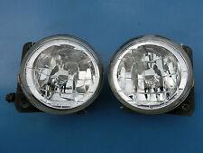 JDM Subaru Impreza WRX CLEAR Crystal Fog Lamps Lights GDB GGA GC8 GF8 GDA OEM