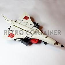 TRANSFORMERS G1 Vintage - Superion - Silverbolt (1986) Robot Plane Jet