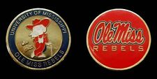 UNIVERSITY OF MISSISSIPPI OLE MISS COLLEGIATE COIN COLLECTIBLE CHALLENGE COINS