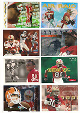 1993 FLEER  49ERS JERRY RICE ALL-PRO  INSERT CARD #15
