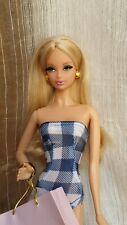 BARBIE STEFFIE LOOK CITY SHOPPER  BLACK LABEL MODEL MUSE swimsuit w/ stand mint