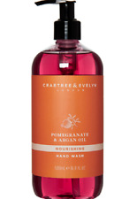 Crabtree & Evelyn  Pomegranate & Argan Oil Hand Wash Pump  500ml UK