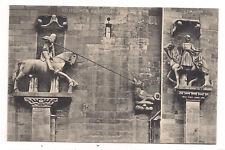 basel , münster , reiterstatue des hl. georg,st martin