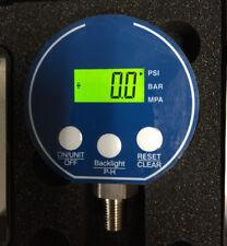Digital pressure Gauge 0-800 psi PIC DPG-254LL Backlit Display
