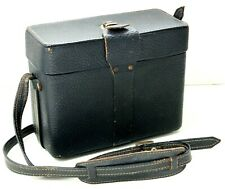 Vintage Camera Case With Working Catch +Leather Strap for Bolex Movie camera etc