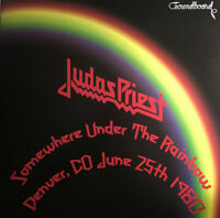 Judas Priest Somewhere Under The Rainbow Denver CO 1980 colour ltd vinyl lp
