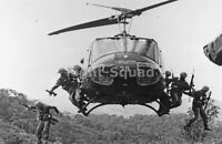 Vietnam War Picture Photo Iroquois Huey Helicopter Bell Uh 1 Vietnam War 3356