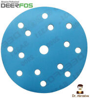 150mm Wet and Dry Sanding Discs 6 inch DA Pads 40-3000 /15 Hole / Hook and Loop