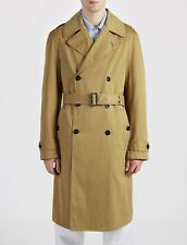 Joseph Full Length Trench Coat Acne 100% Cotton Small Fully Lined Oversized