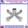 Locking Wheel Bolts 12X1.5 Nuts Tapered For Nissan Micra (2003-10) [MK3]