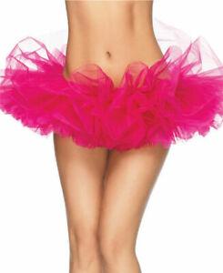 Hot Pink Organza Tutu Petticoat Skirt - Leg Avenue A1705HP New Free Ship Sexy