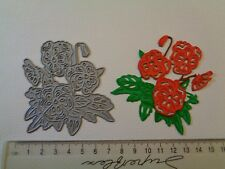 Tattered Lace Bunch of Flowers Craft Die Cutter