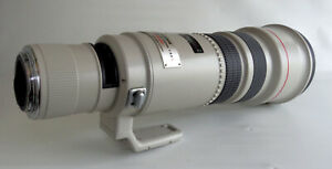 Canon EOS EF Mount 500mm f4.5 L Ultrasonic Tele Lens FOR PARTS OR REPAIR - AS IS