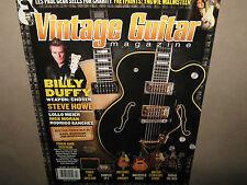 VINTAGE GUITAR July 2012 BILLY DUFFY Yngwie Malmsteen Steve Howe Gretsch 6120