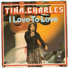 "Tina Charles - I love to love / Disco fever (single 7"")"