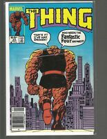The Thing, #23, Marvel Comic, 1985, Mid Grade