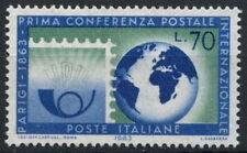 ITALIA 1963 SG # 1096 Parigi CONFERENZA POSTALE MNH #D 4753