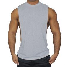 HOMBRE GYM Camiseta de tirantes Fisicoculturismo Deportivo Muscle Workout
