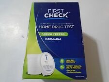New Sealed First Check Home Drug Cup Test, Marijuana 1 Count 10/2020
