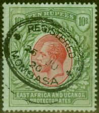 B.E.A KUT 1912 10R Red & Green-Green SG58 Fine Used