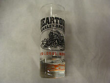Harley-Davidson® Clear Tall Shot Glass from Red Lodge, Montana - Renamed Dealer