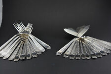 12 couverts à poisson Christofle Villeroy (fish forks & knives)