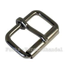 10 Stück Rollschnalle 30mm Stahl Metall Rollschnallen Schnallen vernickelt 30 mm
