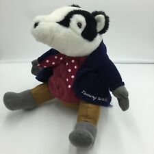 Eden Tommy Brock Beatrix Potter Badger Plush Soft Toy Stuffed Animal  9""