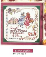 FRIENDSHIP SAMPLER  -  CROSS STITCH PATTERN ONLY    HM - SUW