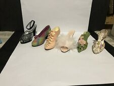 Just The Right Shoe By Raine Lot Of 5 & bonus figurine (as is, See Description)