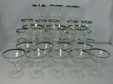 FOSTORIA crystal WEDDING RING 6051 1/2 pattern 36-piece SET SERVICE for 12