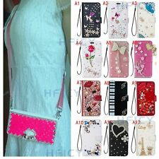 For Samsung Galaxy S20 FE Bling Magnetic Leather Wallet Flip Phone Case+Lanyard