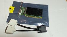 Nvidia NVS 300 512Mb up to 3Gb shared PCIE dual DVI with cable NEW Win10 8 7 XP