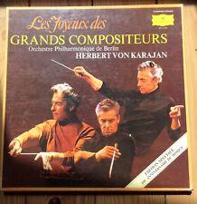Les Joyaux Des Grands Compositeurs - Herbert Von Karajan Phil. Berlin - 8Vinyles